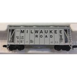 150-3862 N  GATX Airslide Hopper Milwaukee Road_40262