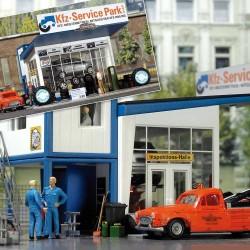 """HO """"Reifenhandel mit Abschleppwagen""""_40282"""