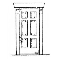 650-2268 HO Door Six-Panel (2)_40429