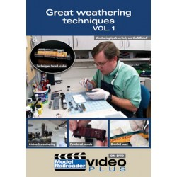 DVD Great Weathering Techniques Volume 1_40437