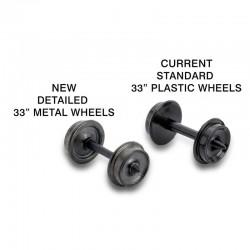 """489-003.12.020 N 33"""" Metal Wheels (12)_40692"""