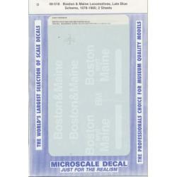 460-48-518 O Abziehbild B&M Locos late blue 1978-8_40946