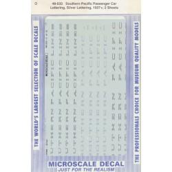 460-48-533 O Abziehbild SP Pass. Car, lettering si_40948