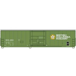 910-2027 HO 50' PCF Insulated box car BC R 4654_41246