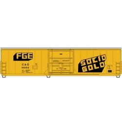 910-2029 HO 50' PCF Insulated box car C&O 402014_41248