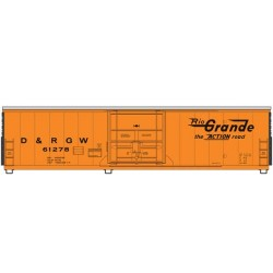 910-2033 HO 50' PCF Insulated box car D%RGW 61278_41252
