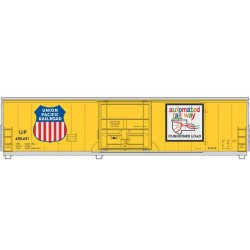 910-2037 HO 50' PCF Insulated box car UP 490451_41256