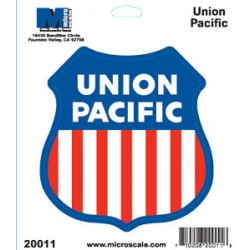 460-20011 RR Sticker Union Pacific_41527