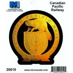 460-20010 RR Sticker Canadian Pacific Railway_41529
