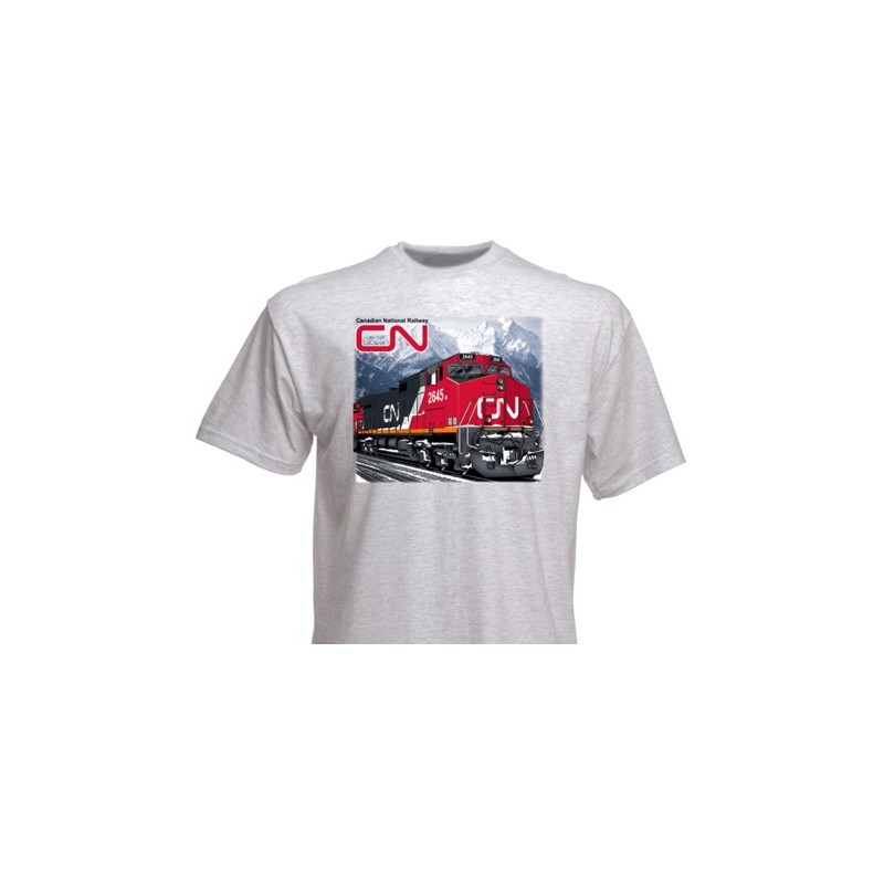 T-Shirt Canadian National AC4400 XL_4165