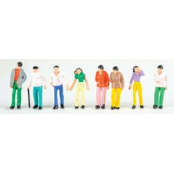 374-432 O Standing People 50 painted Figures_41727