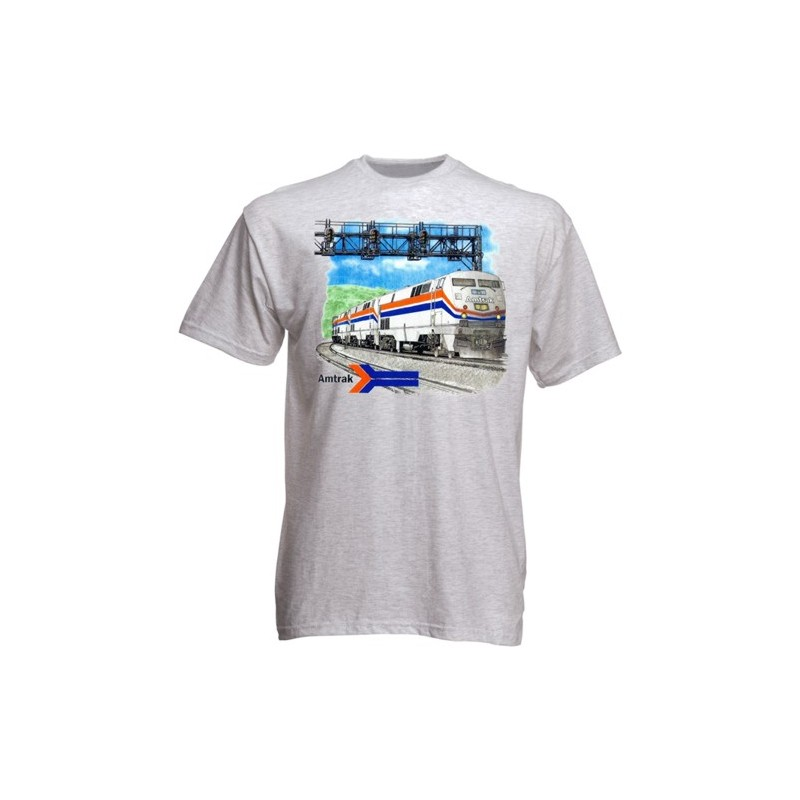 T-Shirt Amtrak Genesis L_4183