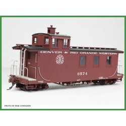 6701-K101 On3 D&RGW Long Caboose Kit_42628