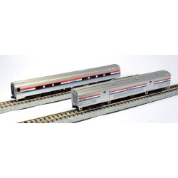 N Amtrak Amfleet II Phase III Set B_42652