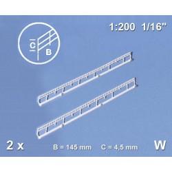 2804-08-31071 1:200 Treppengeländer (2) 4,5mm_42930