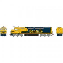 141-G63937 HO SDF40-2 Santa Fe 5250 (ohne Sound) (_43212