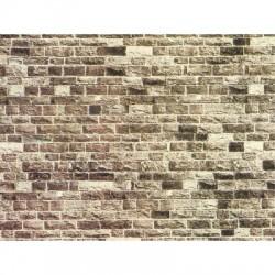 """HO/TT Mauerplatte """"Basalt"""" 64x15 cm_43366"""