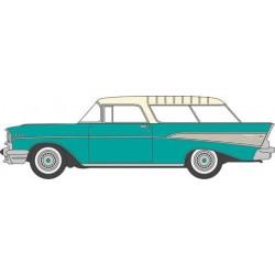 553-87CN57003 HO 1957 Chevrolet Nomad 2 Door Stati_43428