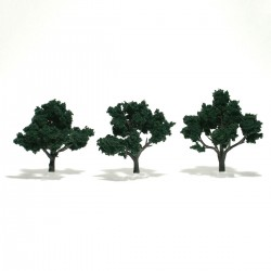 Bäume 7,6 - 10,2 cm dunkelgrün