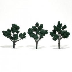 Bäume 10,2 - 12,7 cm dunkelgrün_4346