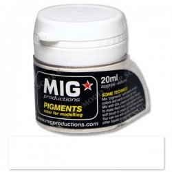 MIG-P022 Pigment Color Ashes White_43724