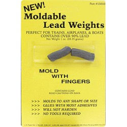 116-13010 Gewicht formbar Moldable Lead 1oz /28,6g_43842