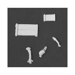 229-6213 HO Boxcar Parts
