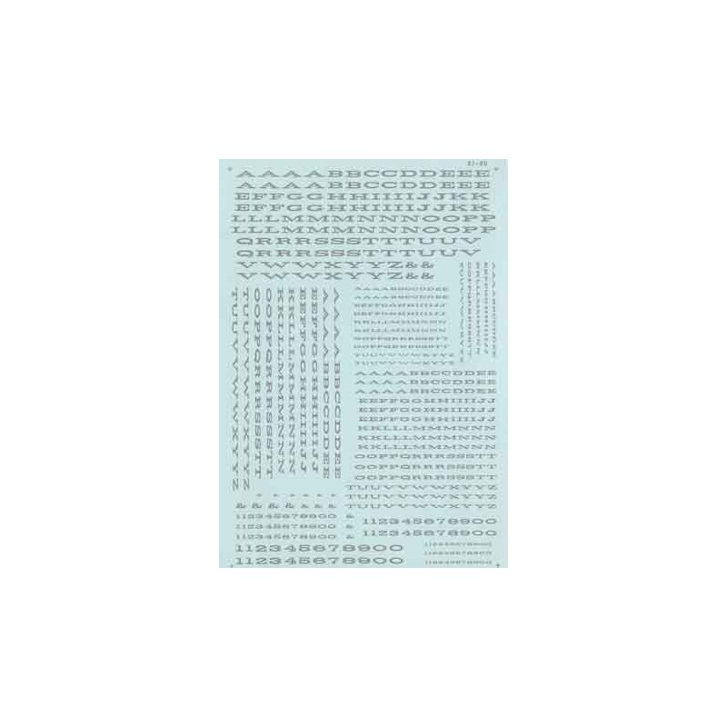 460-70018 N Alphabets - extended roman - Dulux_44151