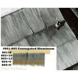 HO Corrugated Aluminum / Wellblech_44177