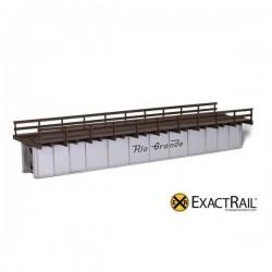 5402-EE-9812-1 HO 72' Deck Plate Girder Bridge, Wo_44412