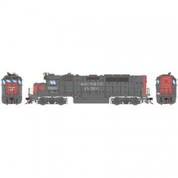 HO GP40P-2 SP 7600  (DCC)_44429
