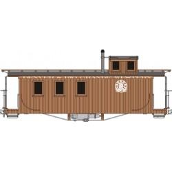 HOn3  Long Caboose D&RGW  Bausatz_44550