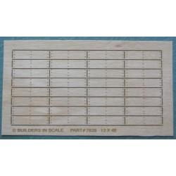 169-5821 HO Treppentritte aus Holz 10.5mm breit_44640