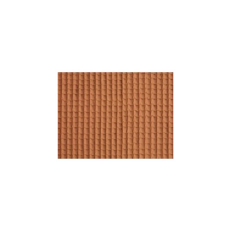 HO Dach - 3D-Dachstein, rot 28 x 10 cm_44807