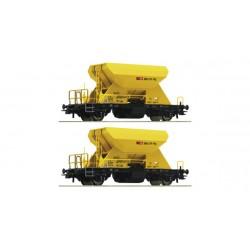 HO 2-tlg. Set: Schotterwagen, SBB_44860