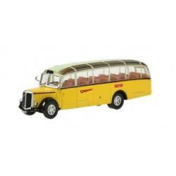 O 1:43 Saurer Alpenwagen L4C IIIa PTT beige/gelb_44962