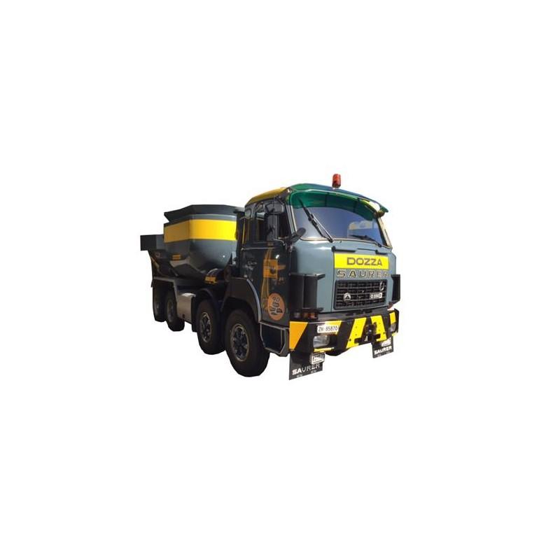O 1:43 Saurer D330B F8x4 Beton Muldentransport_45191
