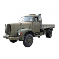 O 1:43 Saurer 2DM Militärlastwagen Kipper 4x4_45216
