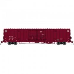 N BX-166 Box Car SF Berwind J Repaint 621595_45262
