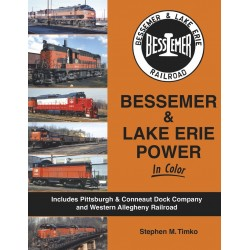 Bessemer & Lake Erie Power In Color_45354