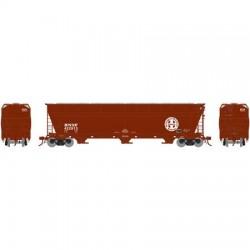 N ACF 4600 3-bay centerflow hopper BNSF, 423330_45572