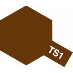Tamiya Spray rot/braun (TS-1)_45657