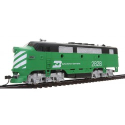 HO Diesel F2-A Dual Drive, Powered w/Light BN 2828_45660