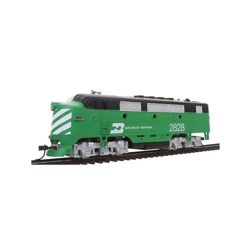 HO Diesel F2-A Dual Drive, Powered w/Light BN 2828_45660