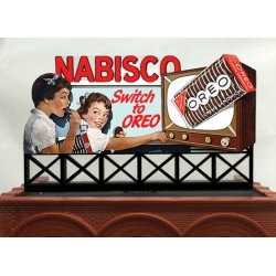 HO - O Nabisco Oreo Animated Rooftop Billboard - L_45667