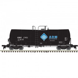 N 17,600 Gallon Tank Car ADM (Molecule) 17592_45805