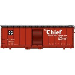 HO 40' AAR 1944 Boxcar Santa Fe 139170 (Mineral Re_45923