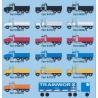 N Kenworth T800 Dump Truck - white - weiss_46564