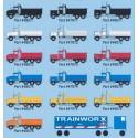 N Kenworth T800 Dump Truck - blue - blau_46566