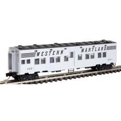 N 50' Troop Sleeper Car Norfolk & Western 565700_46584
